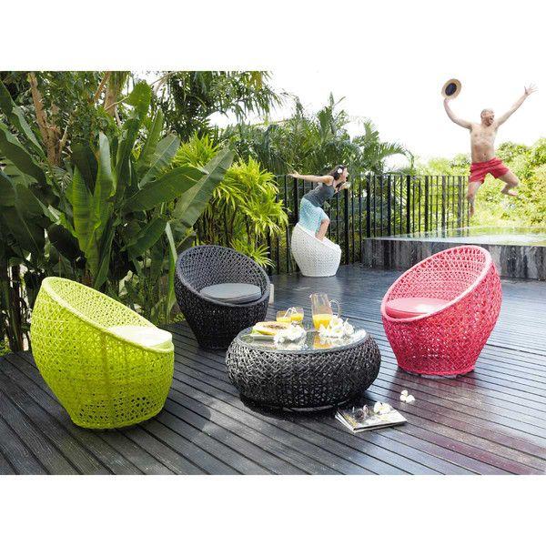 Poltrona da giardino rotonda ... - Durban