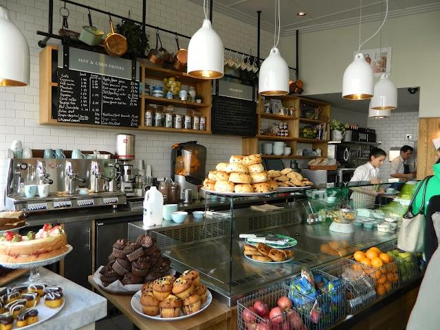 Muriel's Kitchen, South Kensington, London.