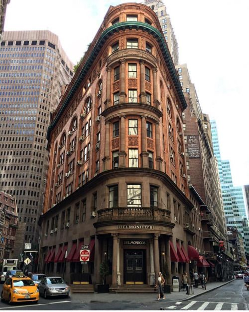 Delmonico's Restaurant, a classic in Manhattan by Scott Lipps...