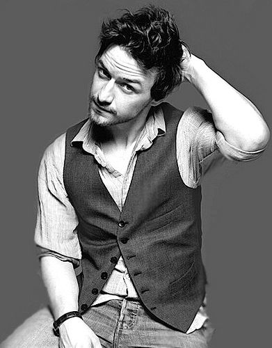 Oh James McAvoy, why must you be married...and a celebrity?