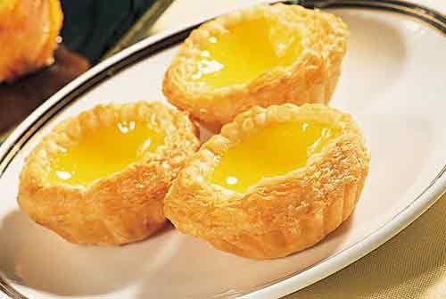 tartas de huevo