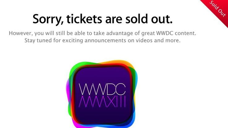3, 2, 1...WWDC 2013 is sold out | Worse than trying to get a ticket to a Justin Bieber concert, passes to Apple's developer conference are already gone. Buying advice from the leading technology site