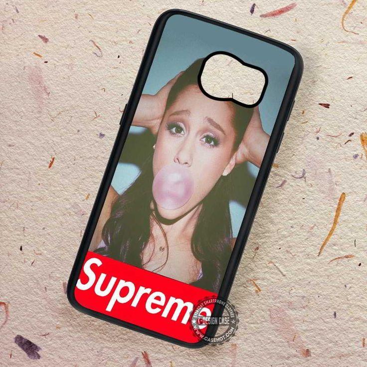 Buble Gum Ariana Grande Supreme - Samsung Galaxy S7 S6 S5 Note 7 Cases & Covers