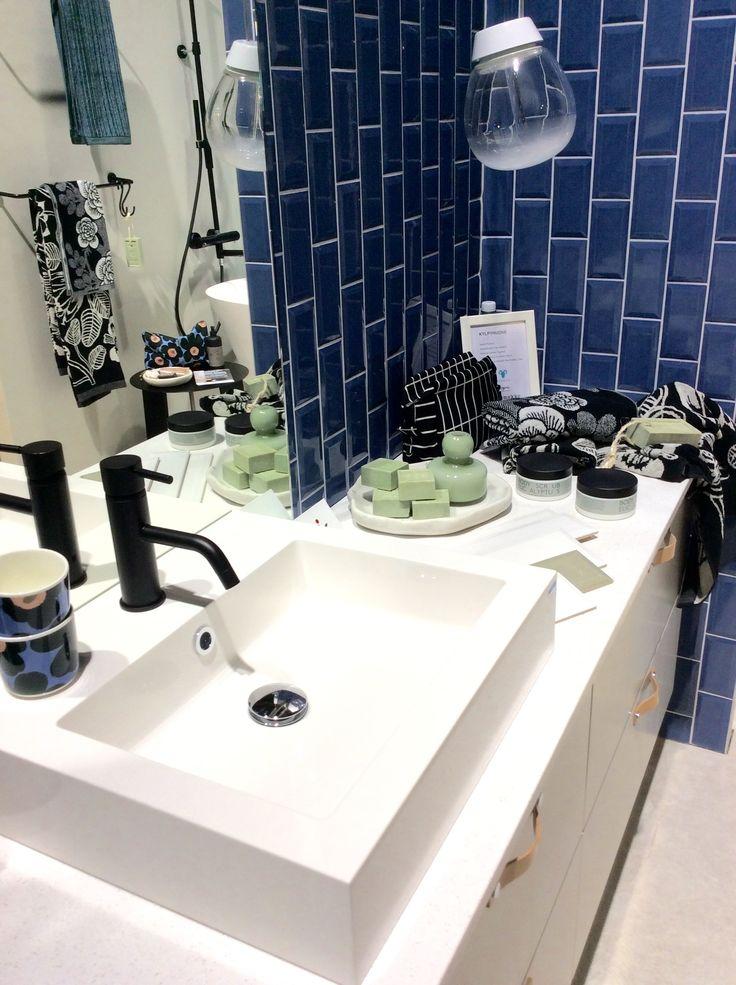 Habitaressa Avotakan osastolla esillä myös Topin kylpyhuone. Osaston suunnittelija Minna Rasila. Tervetuloa!
