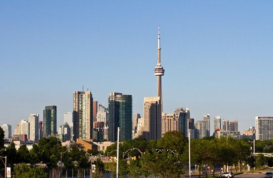 Toronto (Try the Fresh Restaurants, Waterfront trail of Lake Ontario)