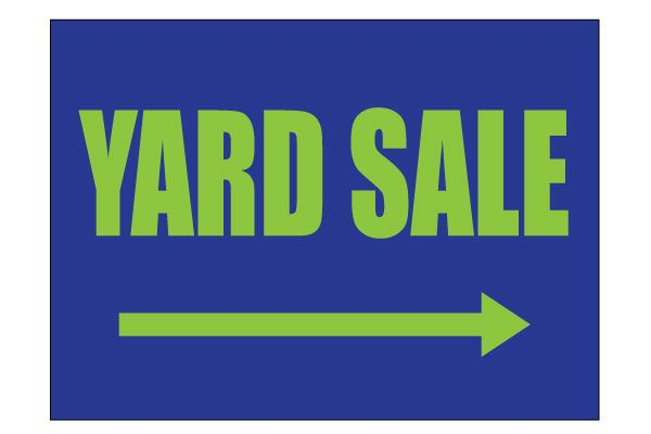 9 best yard sale signs images on pinterest garten house