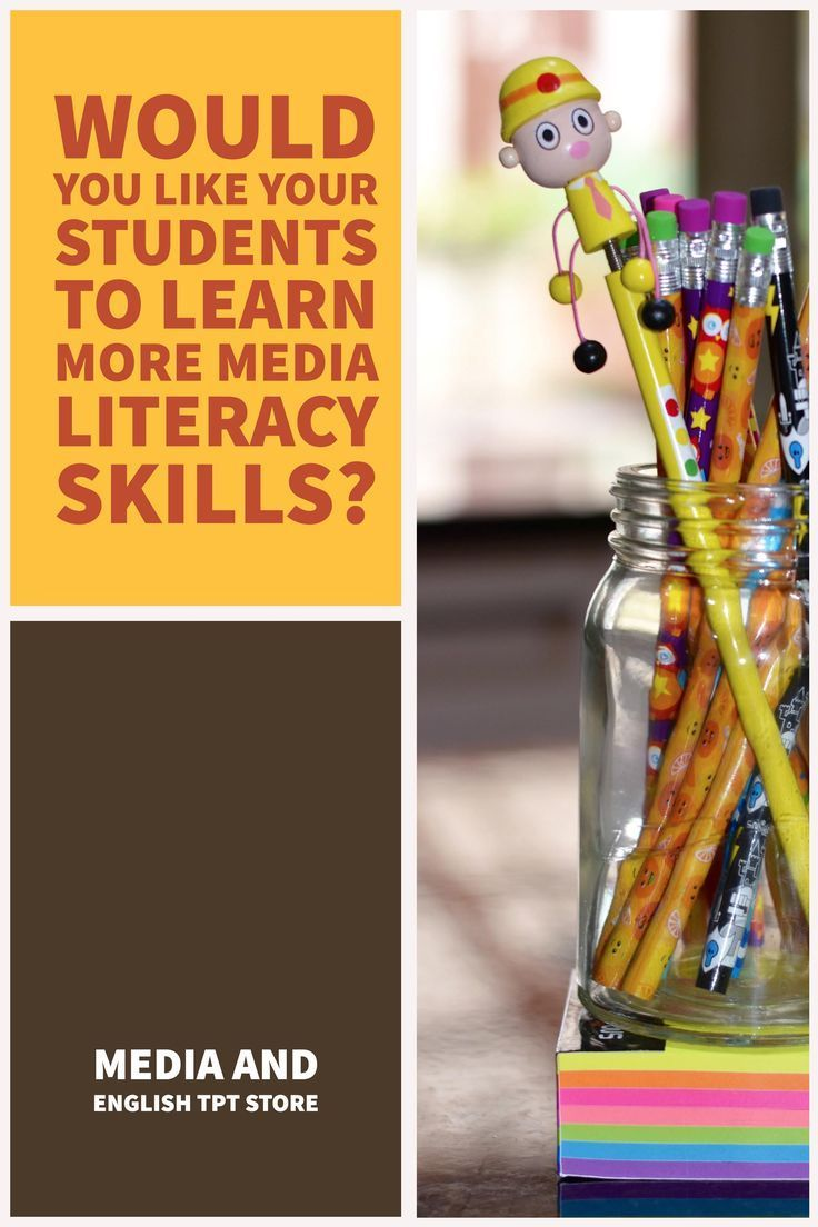 Looking for Media lessons that work? Fun classroom media literacy lessons available for grades 2-12. Click through to https://www.teacherspayteachers.com/Store/Media-And-English-Literacy