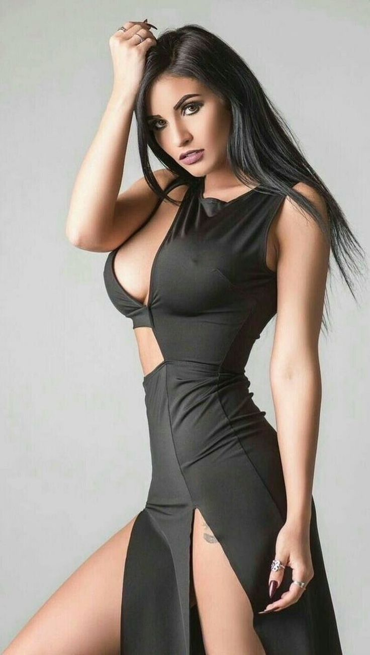 Pin On Long Cool Woman In A Black Dress [ 1303 x 736 Pixel ]