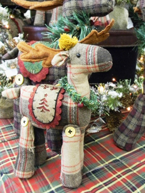 Cute little rustic reindeer, waiting for a home!