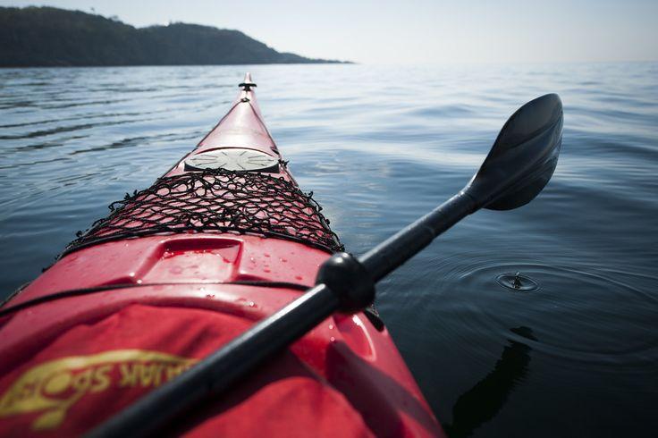 Kajakken en kanoën in Zuid-Zweden
