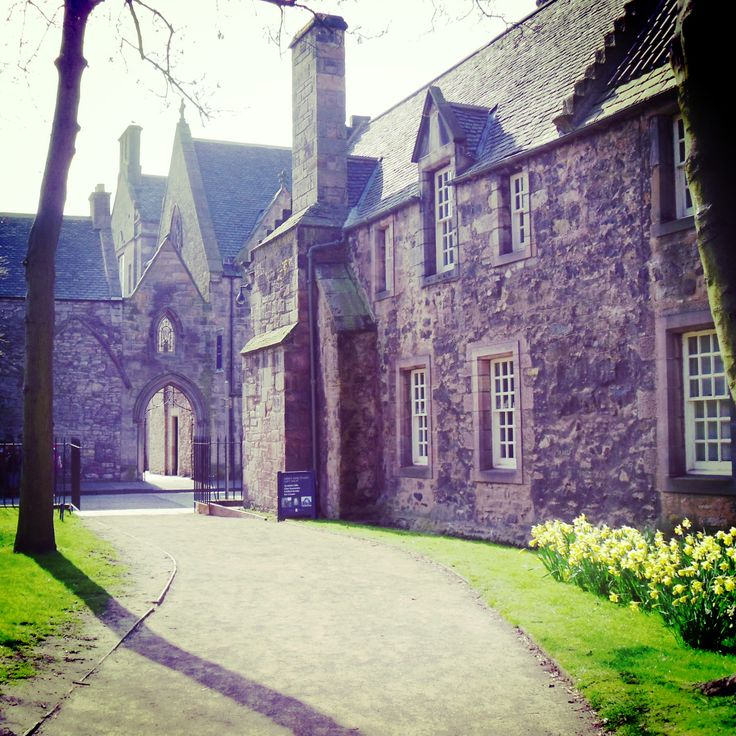 Holyrood Palace Gardens 17 Best images about H...