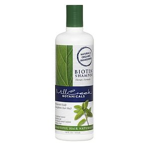 This is the best All Natural Shampoo! My hair was falling out due to stress and after using this product over a month my hair is perfectly healthy and strong- no longer breaking!!   Mill Creek® Botanicals Biotin Shampoo - MILL CREEK @GNC