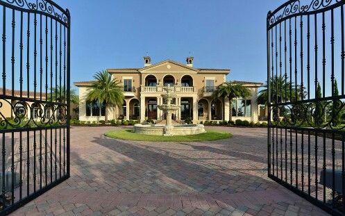Mansion Gate S Mansions Florida Mansion Mansions Homes