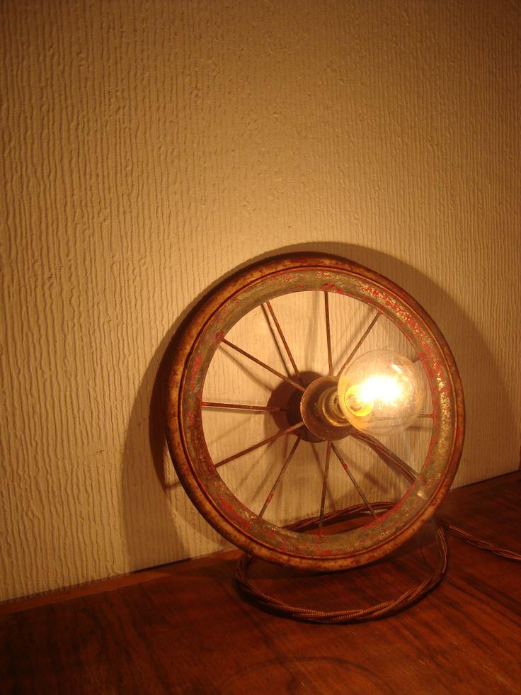 Pram wheel light. Www.lostandfoundry.co.uk