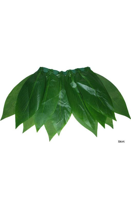 Hawai Mini Rock mit Palmblätter