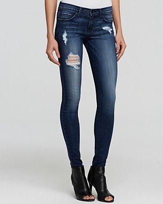 Flying Monkey Jeans - Distressed Skinny in Distressing | Bloomingdale's