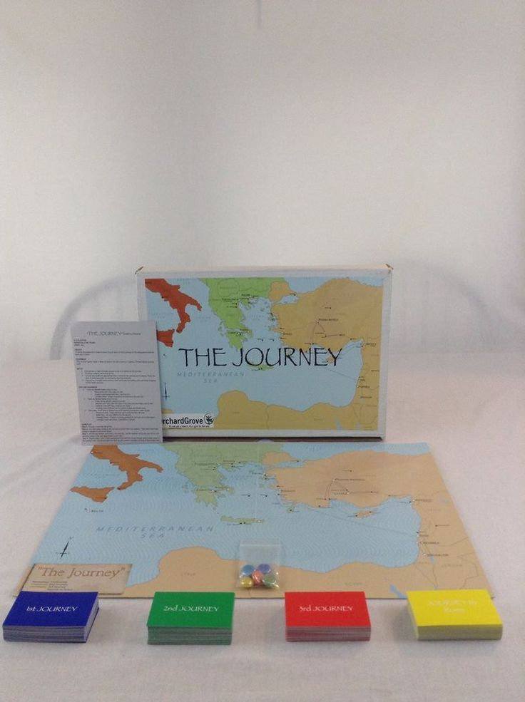 Orchard Grove The Journey To Rome Paul The Apostle Family Fun Board Game #OrchardGrove