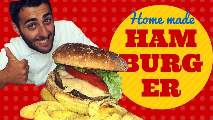 Hamburger fatto in casa! molto meglio di quello che potreste mangiare dai vari Mc, burger king etc! la ricetta è semplice e il risultato assicurato!