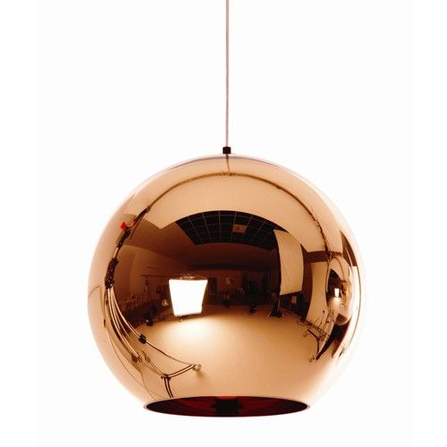 TOM DIXON Copper Shade Hanglamp, Loods 5