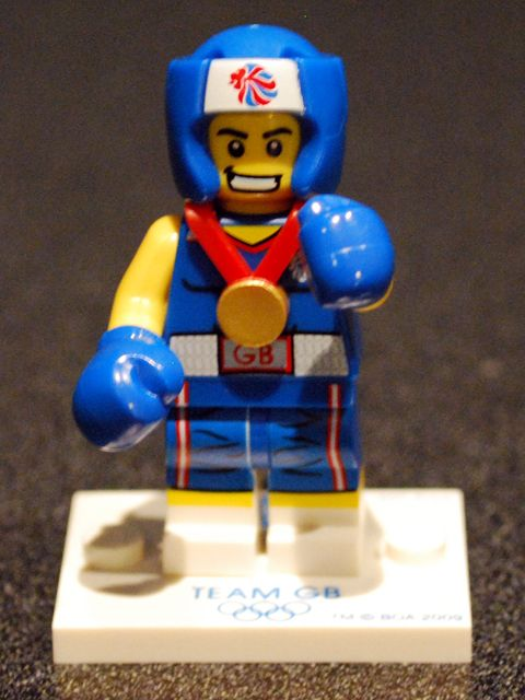 Olympic Lego boxer #LEGO lego