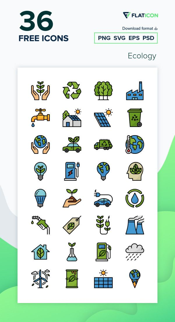 36 Free Vector Icons Of Ecology Designed By Monkik Vector Free Free Icons Png Ecology Design