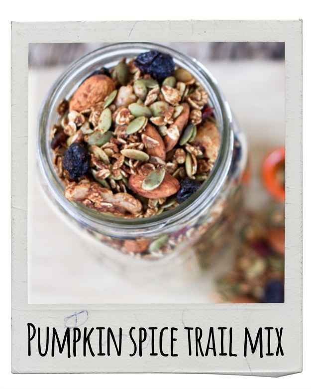 Pumpkin Spice Trail Mix | 17 Delicious Snacks To Make This Fall
