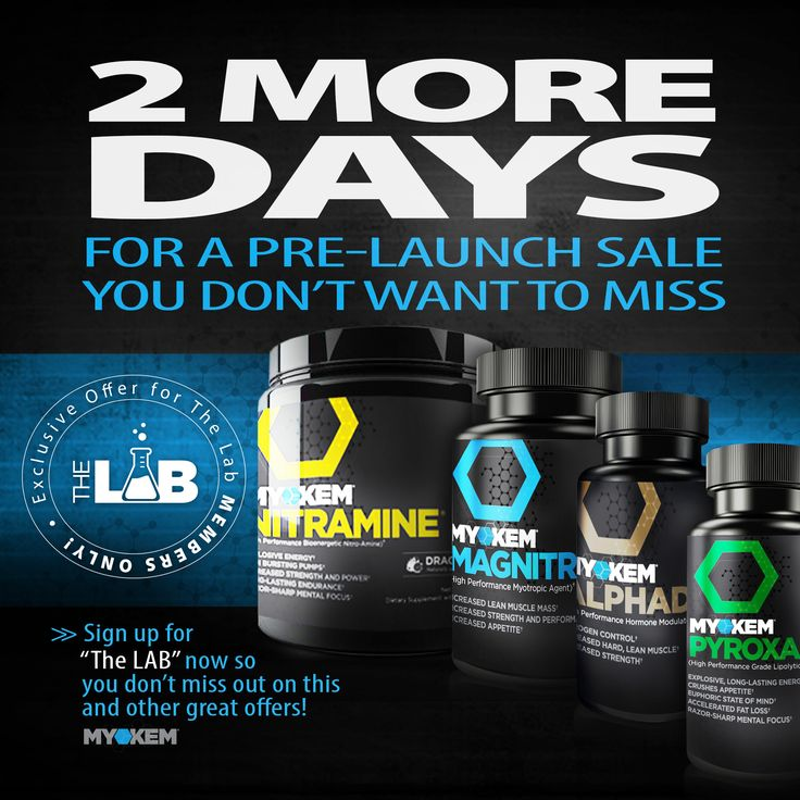 Pre-Launch Exclusive for #TheLab members only! {Are you a member yet?} #defylimitations #scienceoverhype #nitramine #pyroxamine #Magnitropin #Alphadex #myokemnation  Sign up now for FREE: www.myokem.com