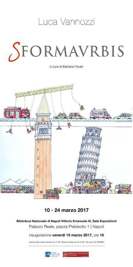 italive.it - Luca Vannozzi 'Sformaurbis' mostra di tavole illustrate inedite