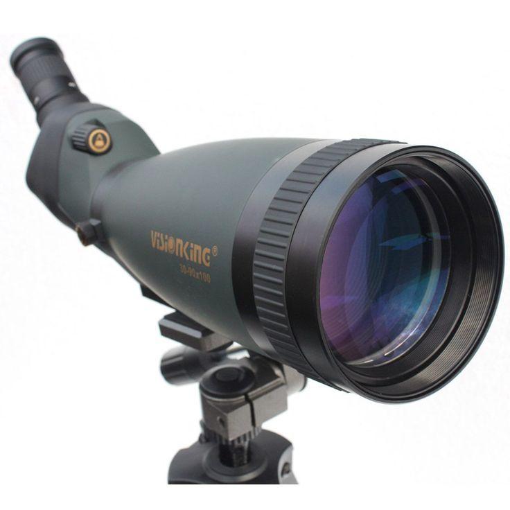 Visionking 30-90x100 Spotting Scope Waterproof Bak4 Adjustable ...