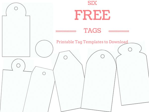 Best  Tag Templates Ideas On   Gift Tag Templates