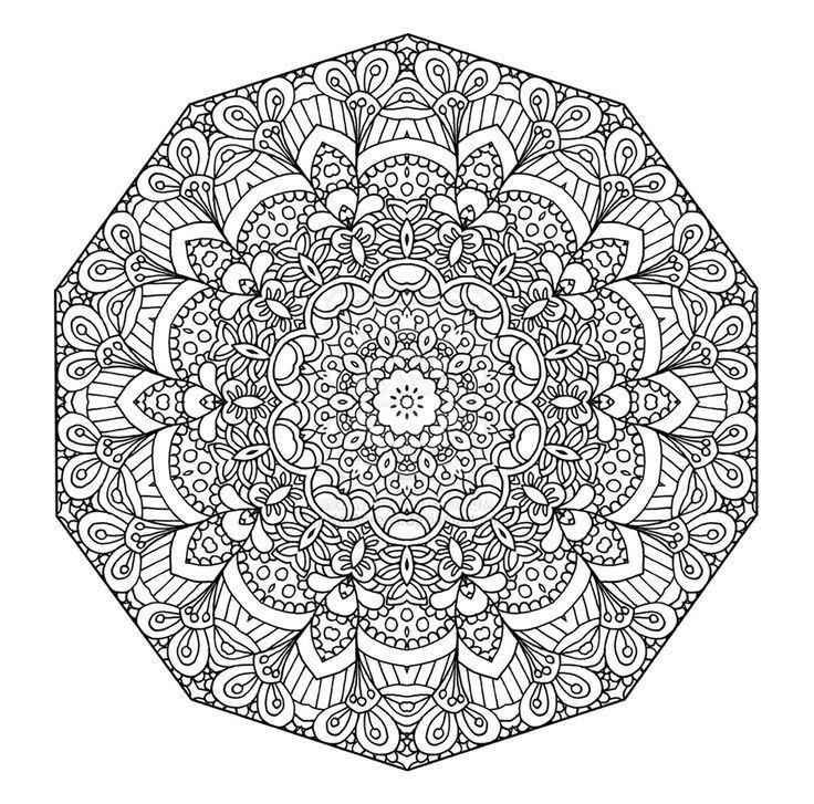 Coloriage Mandala A Imprimer Dans 11 Coloriages De Mandalas Pour Adultes A Imp