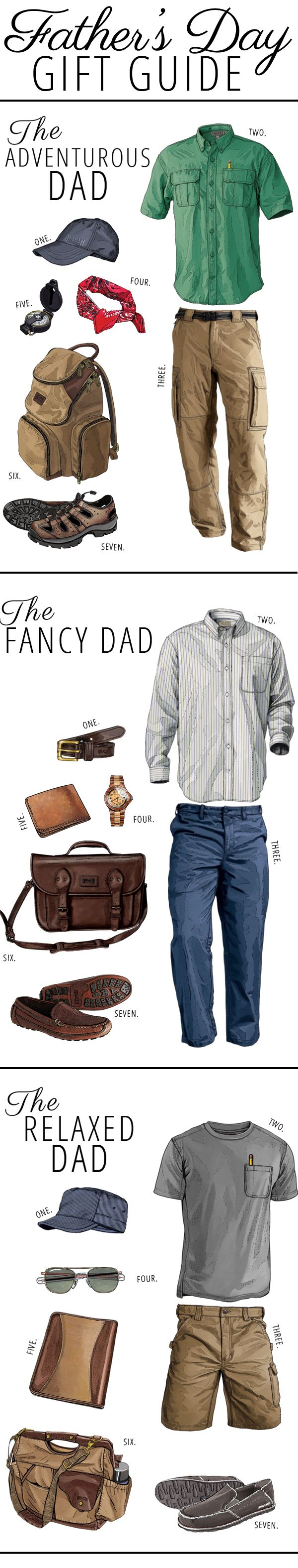 Awesome Father's Day gift guides with great ideas for different types of Dads (+ Win a $50 Gift Card to Duluth Trading Company)!