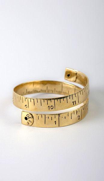 seamstress bracelet!