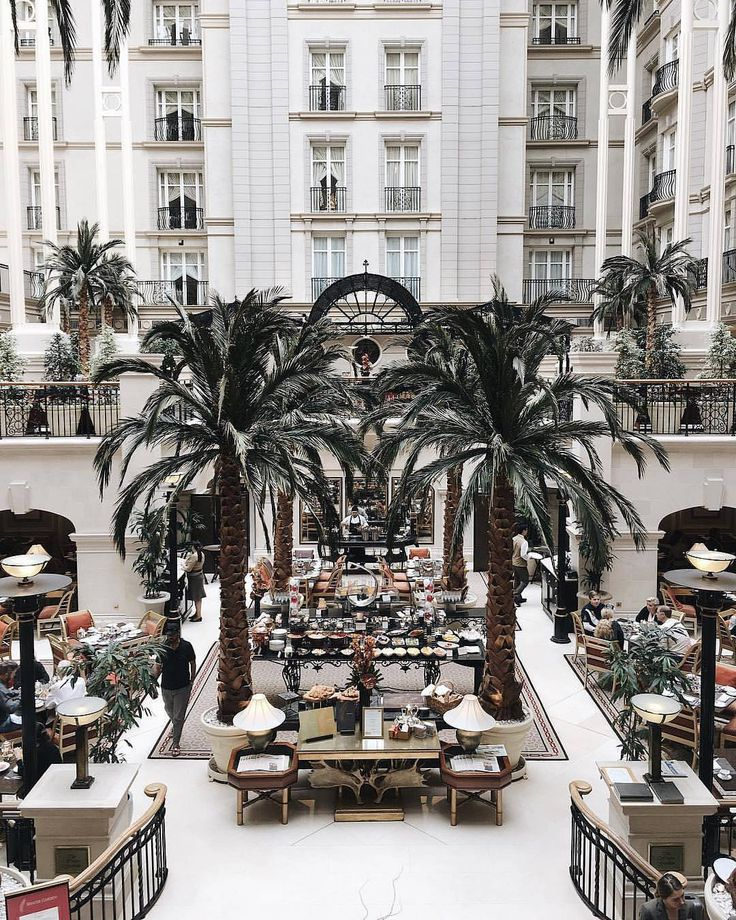 "654 Likes, 12 Comments - Time Out London (@timeoutlondon) on Instagram: ""It doesn't get much more luxe than the dining under palm trees at The Landmark, London's last grand…"""