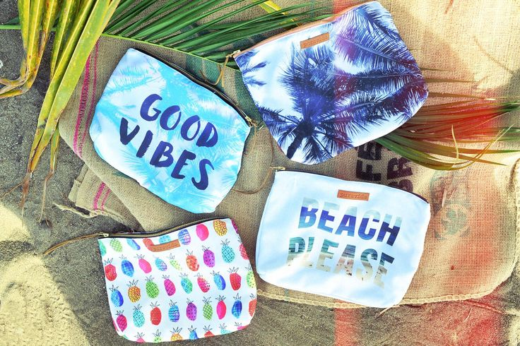 BRAND NEW!! With four custom styles to choose from, our Beach Clutch is your new go-to summer bag! Carry all of your beach essentials with you for a fun day in the sun. Remember... Free Shipping on all U.S. orders!