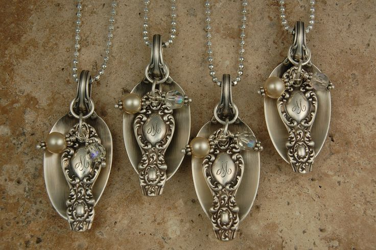 Eclectic Earth: Antique Silver Spoon Necklaces