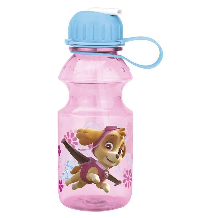 Paw Patrol Reusable Water Bottle for Kids - Skye