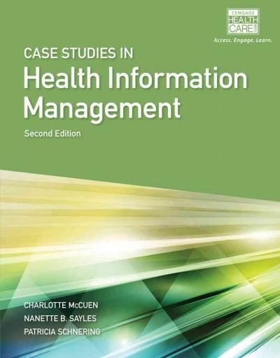 Created specifically for students of Health Information Management and Health Information Technology, this worktext helps bridge the gap between knowledge gained through formal instruction and real-wo