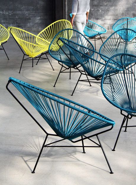 Acapulco Chair Chairhttp://www.dcorner.be/products.cfm/234/3/meubelen/decoratie/OK_Design_Acapulco_Chair.html