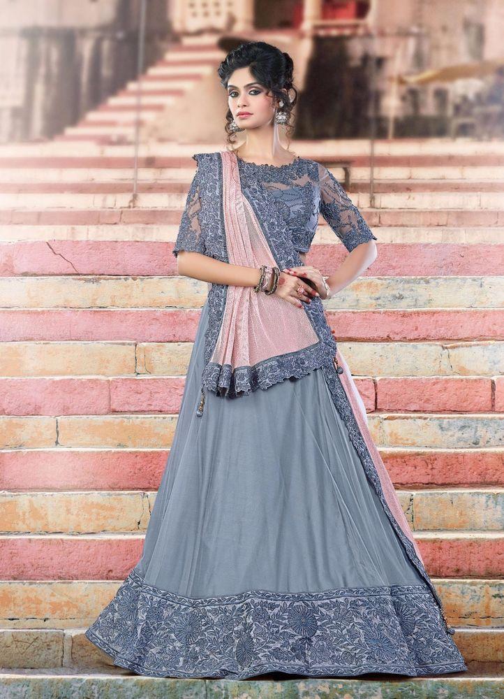 Lehenga Traditional Wedding Choli Pakistani wear Bridal Bollywood Indian Ethnic #TanishiFashion