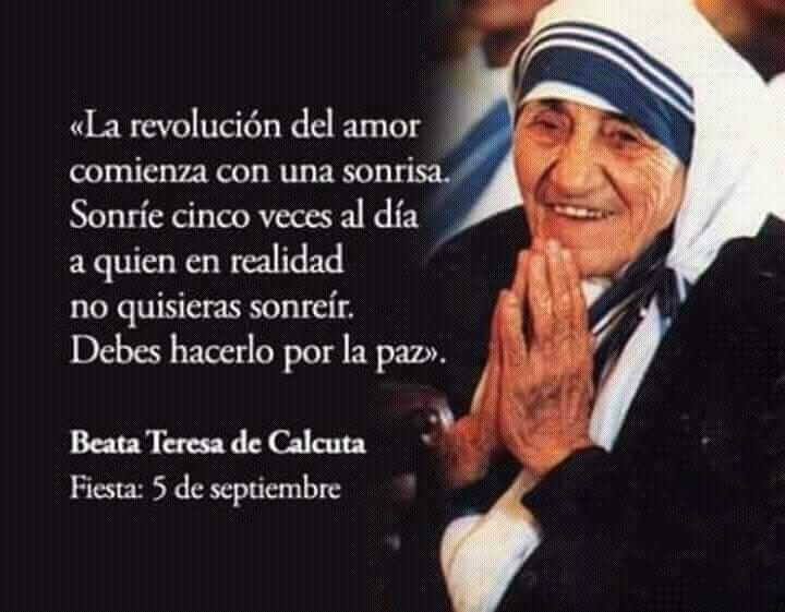 Pin De Pía Méndez En Frases Frases De La Madre Teresa
