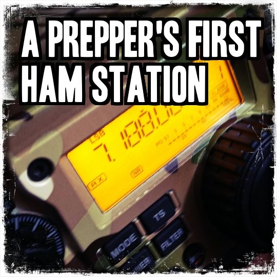 Ever wondered how much it costs or what equipment you need to be a HAM radio operator? This article should set you straight- A Prepper's First HAM Station