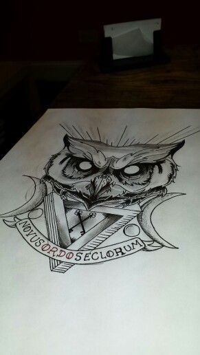 illuminati owl drawing - photo #14