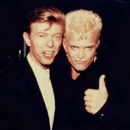 David Bowie &  Billy Idol