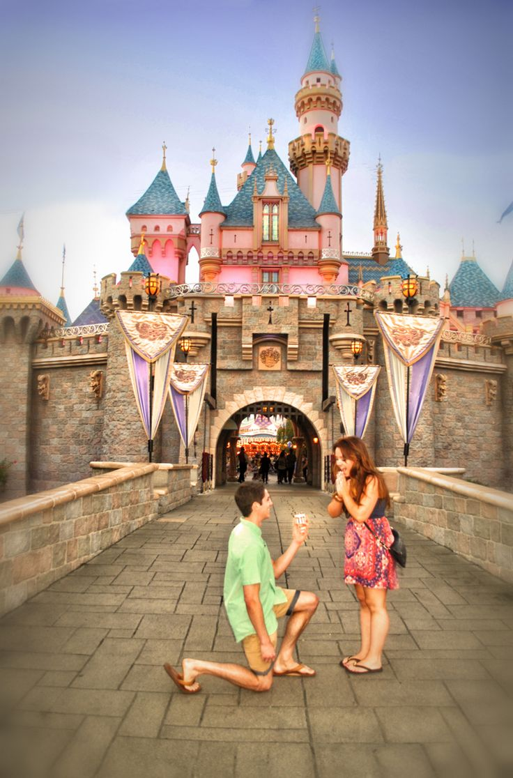Disneyland proposal #disneywedding