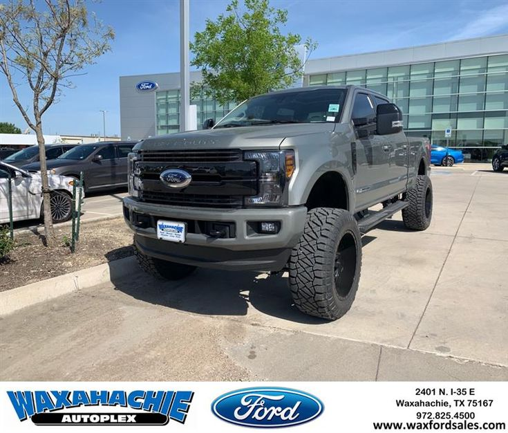 Brand new 2019 F250 Lariat Sport Lifted on the new Silver ...