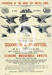 Mousehole Anvil Forge Poster – Peter Wright Vintage Solid Wrought Anvils