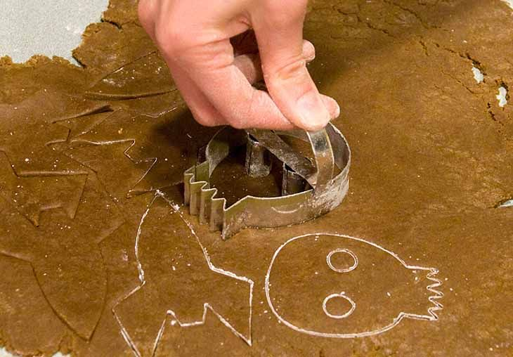 make your own cookie cutter! I'm gonna make one in the shape of Charles Nelson Riley!