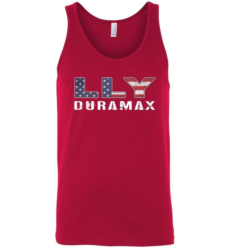 LLY Duramax American Muscle Tank Top Shirt