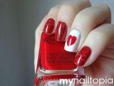 my nailtopia: My Canada Day nails!